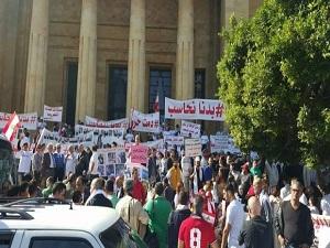 اعتصام للحراك الشعبي في وسط بيروت بذكرى الإستقلال