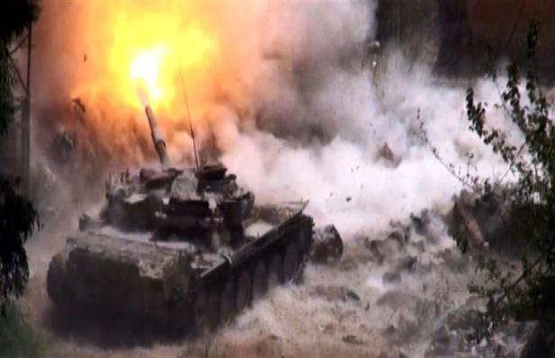 Photo of الجيش السوري على مشارف تدمر