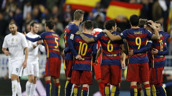– برشلونة يسحق ريال مدريد بأربعة أهداف مقابل لا شيء