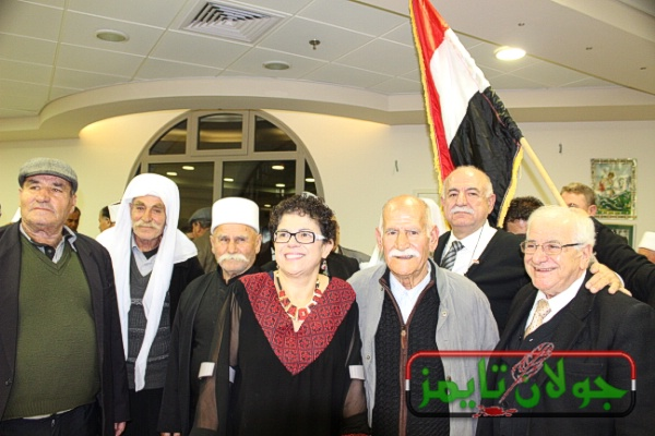 Photo of تغطية الفضائية السوريه لفعالية من حيفا هنا دمشق