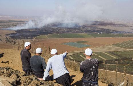 Photo of المدفعية الثقيلة تدك جحور العملاء في الصمدانية