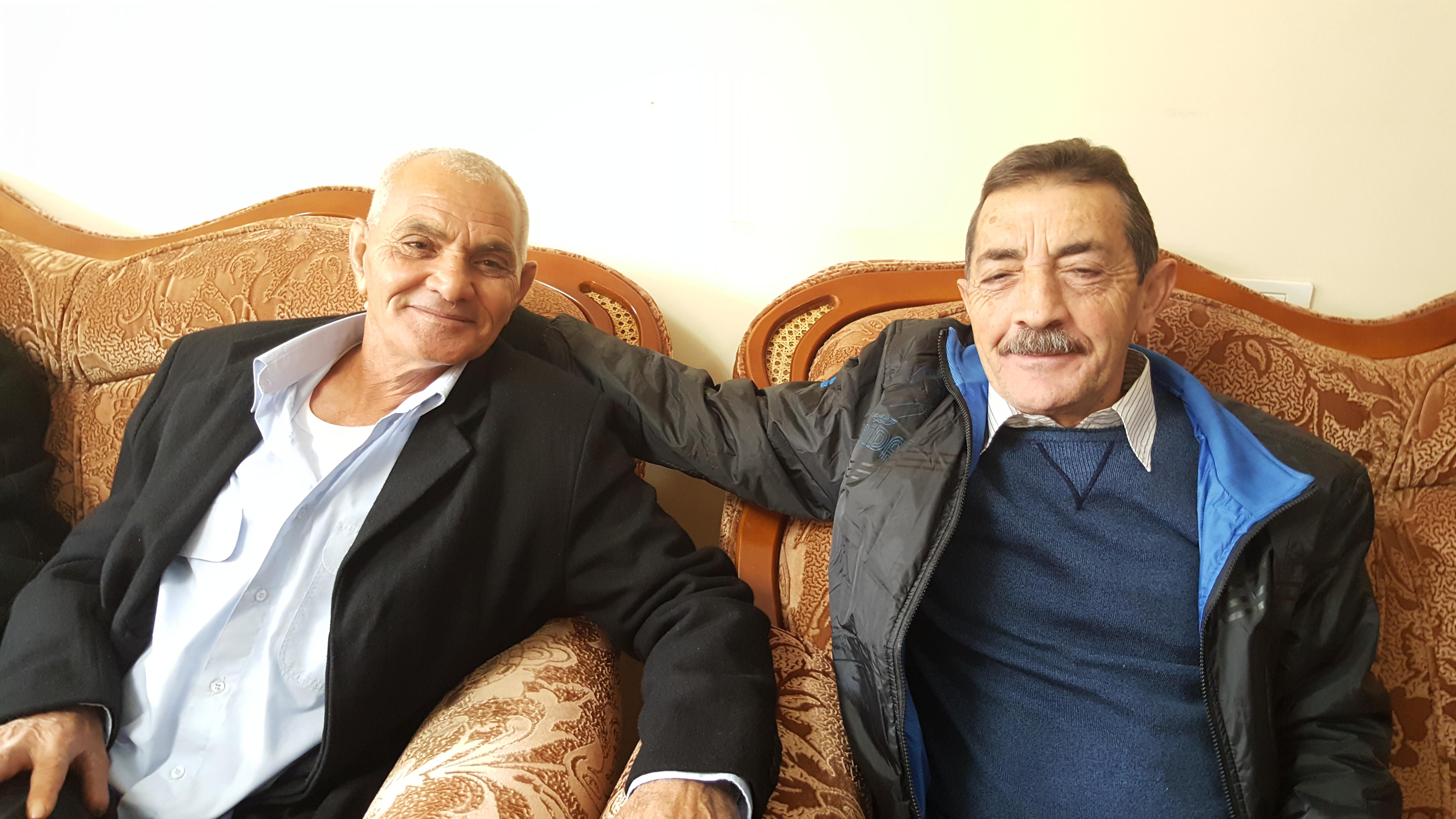 Photo of وصول وفد من الداخل الفلسطيني للتهنئة بتحرير الاسير ماجد الشاعر