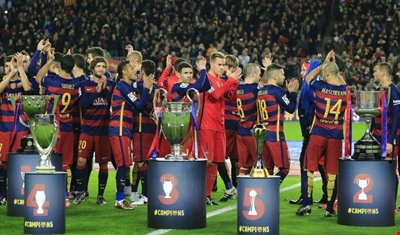 Photo of برشلونة الأفضل في 2015