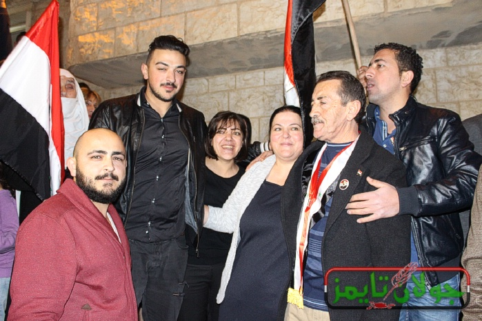 Photo of صور استقبال الاسير ماجد الشاعر في الجولان اليوم