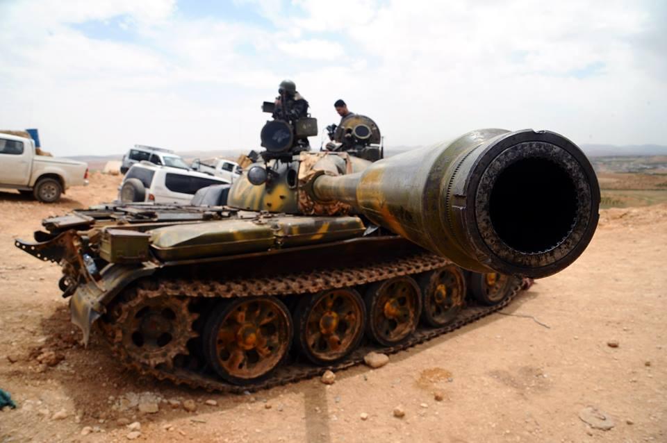 Photo of الجيش السوري يوسع سيطرته في الشيخ مسكين .. ويقترب من إغلاق الحدود الأردنية