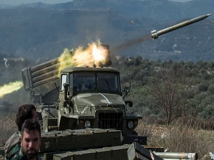 """Photo of الجيش السوري يبدأ تقدمه لتحرير الرقة من """"داعش"""""""