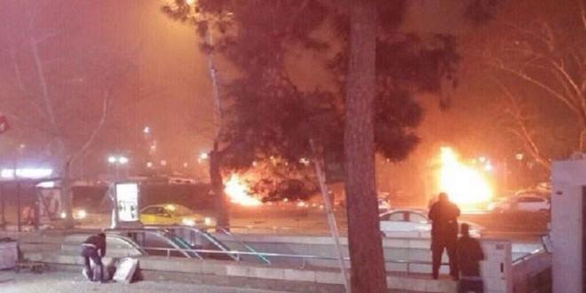 Photo of 34 قتيلا و 125 مصابا في تفجير بسيارة مفخخة وسط أنقرة