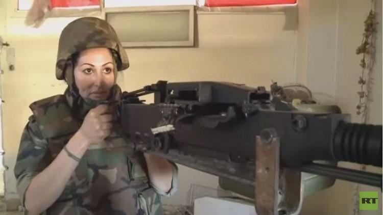 Photo of مدربة أسود سورية تشارك في معارك حلب