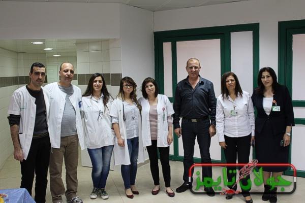Photo of عيادة الصحة العامة تقيم يوم صحي بمناسبة عيد الام ببقعاثا