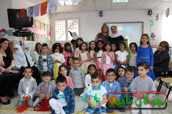 Photo of احتفل بستان السلام بعيد الام