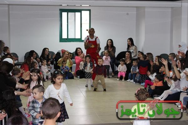 Photo of مكتب الشؤون الاجتماعية في بقعاثا يقيم احتفالا لحضانات بقعاثا بمناسبة عيد الام