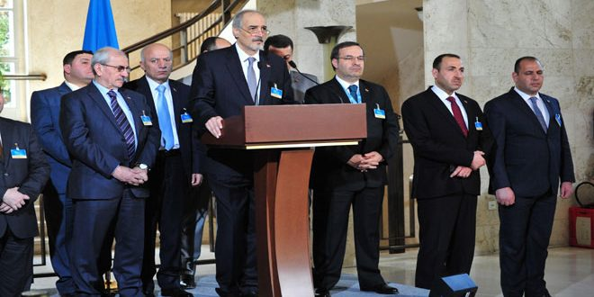 Photo of الجعفري: اتفقنا مع دي ميستورا على أن تكون الجلسة القادمة لمناقشة تعديلاتنا على ورقته-فيديو