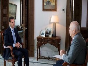 Photo of الرئيس الأسد: الشعب والجيش في سورية لديهما الإرادة لتنظيفها بشكل كامل من الإرهابيين وهذا الكلام غير قابل للنقاش.. الدول الغربية غير صادقة ولا يمكن الاعتماد عليها في حل أي مشكلة