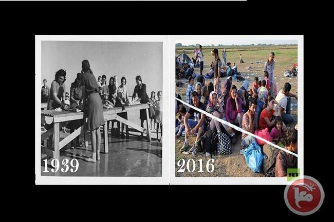Photo of السوريون يستقبلون آلاف اللاجئين الأوروبيين!