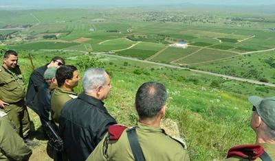 Photo of حكومة إسرائيل تعلن التمسك باحتلال الجولان السوري للأبد