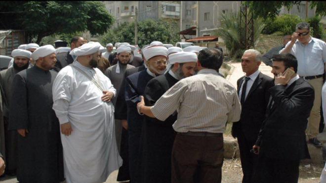 Photo of علماء دمشق يعزون بشهداء جبلة وطرطوس