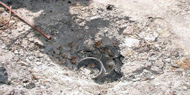 Photo of سقوط قذائف هاون على مبنى مديرية الصحة بالقنيطرة