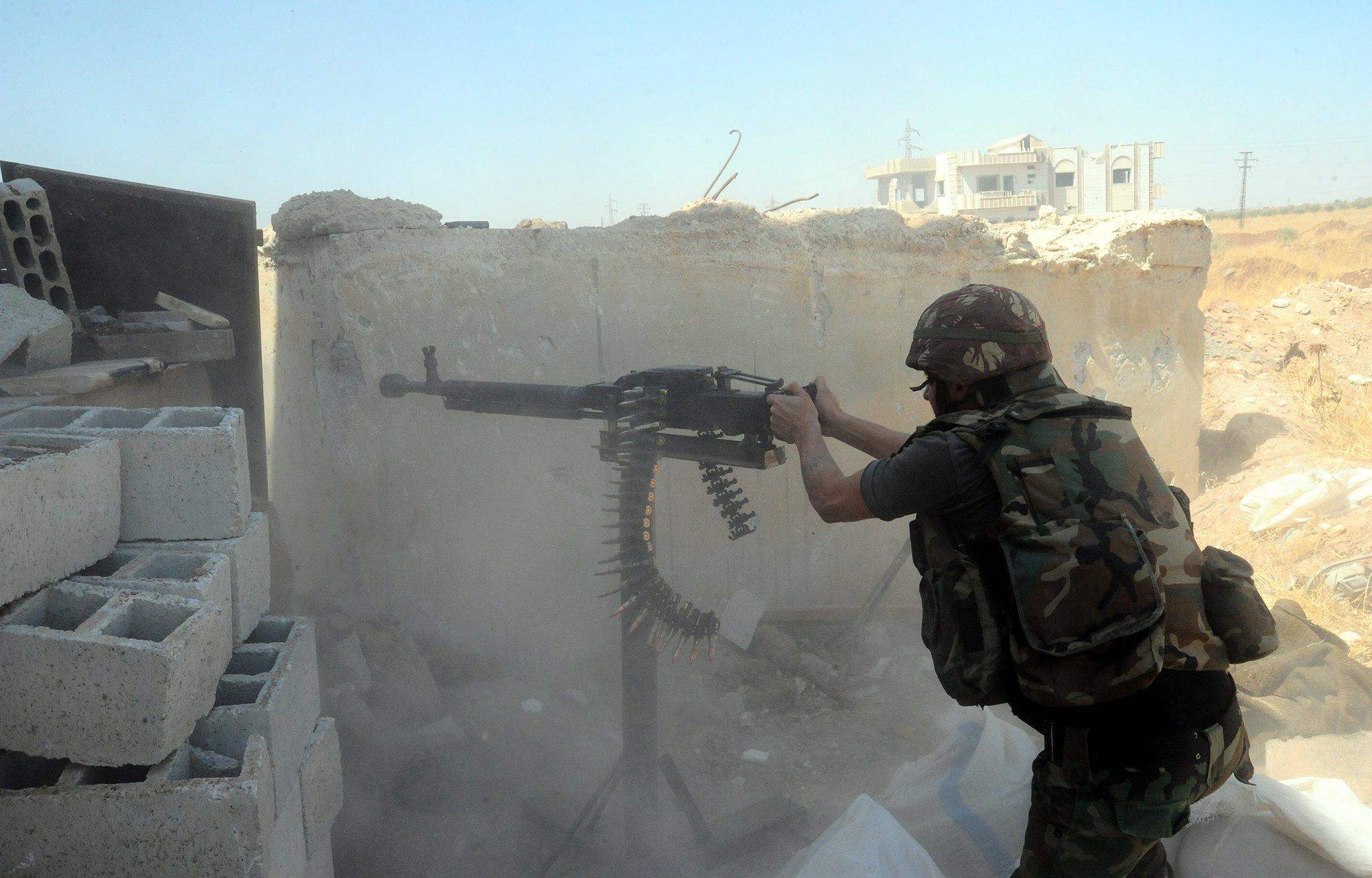 Photo of إحباط محاولة تسلل داعشي باتجاه البانوراما بدير الزور ، وداعش تهاجم ما يسمى جيش الفتح بريف حلب