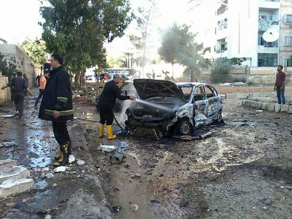 Photo of 5 شهداء و عشرات الجرحى باعتداءات إرهابية على حلب وريفي دمشق وإدلب