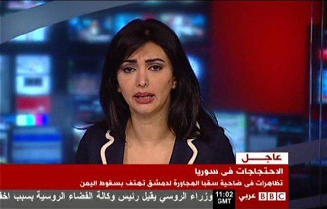 Photo of مذيعة تقدم استقالتها من BBC بسبب أخبار كاذبة عن حلب