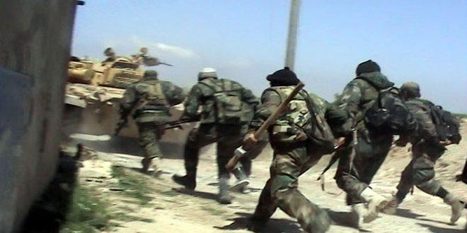 Photo of الجيش السوري يسيطر على عشر بلدات في القطاع الجنوبي