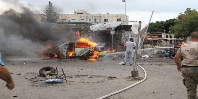 Photo of تفجيرات إرهابية عدة تستهدف أحياء سكنية في مدينتي طرطوس وجبلة تسفر عن وقوع عدد من الشهداء والجرحى بين المواطنين