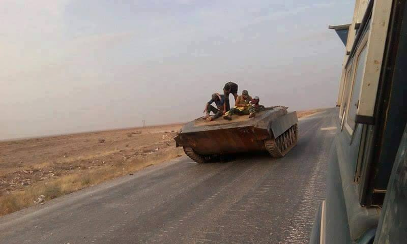 Photo of الجيش يوسع نطاق عملياته باتجاه معقل داعش «الرقة»