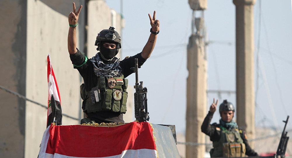 الجيش العراقي يهاجم داعش بالموصل