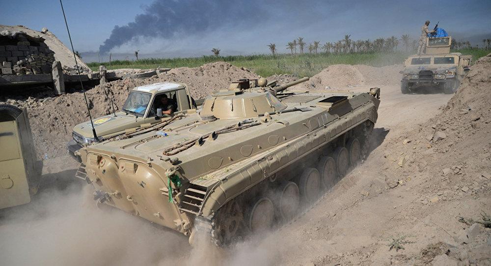 Photo of داعش تصد هجوم الجيش العراقي بالدروع البشرية