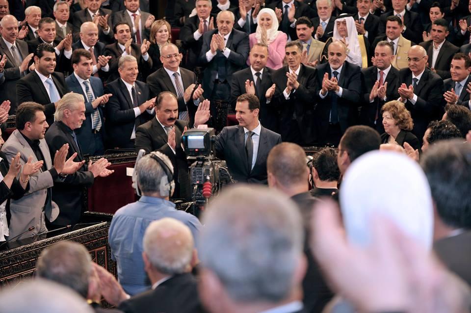 Photo of كلمة الرئيس الأسد أمام الدور التشريعي الثاني لـ مجلس الشعب