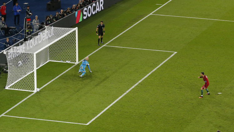 "Photo of البرتغال تخسر نقطتين بسبب رونالدو في ""يورو 2016"""
