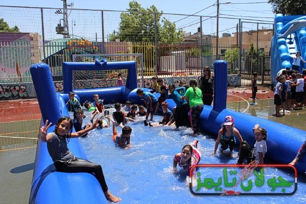 Photo of يوم رياضي لطلاب مدرسة النجوم في بقعاثا