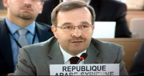 Photo of Ambassador Ala underlines need for uncovering Israeli violations in the occupied Arab lands