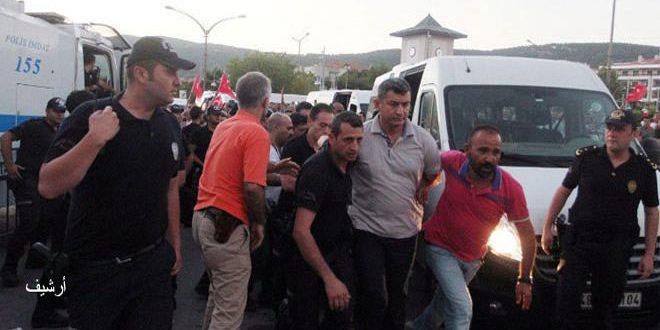 Photo of ايردوغان يعتقل 17 صحيفاً تركياً
