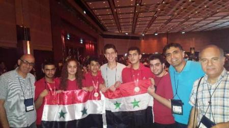 Photo of الفريق السوري المشارك في الأولمبياد العلمي الدولي للرياضيات يحصل على 3 برونزيات و3 شهادات تقدير