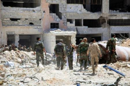 Photo of قصف مقرات إرهابية بريف السويداء