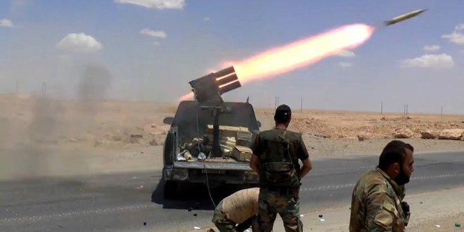 Photo of الجيش العربي السوري يوقع 20 إرهابياً بين قتيل ومصاب في درعا