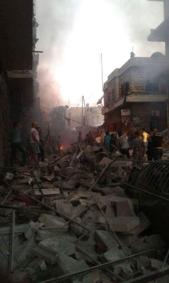 Photo of قصف صباحي على أحياء حلب