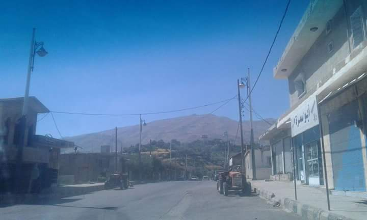 Photo of اشتباكات عنيفة بمحيط بلدة حضر