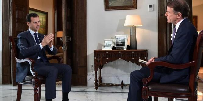 الأسد: الأمريكيون يقولون شيئاً ويخفون شيئاً أخر.