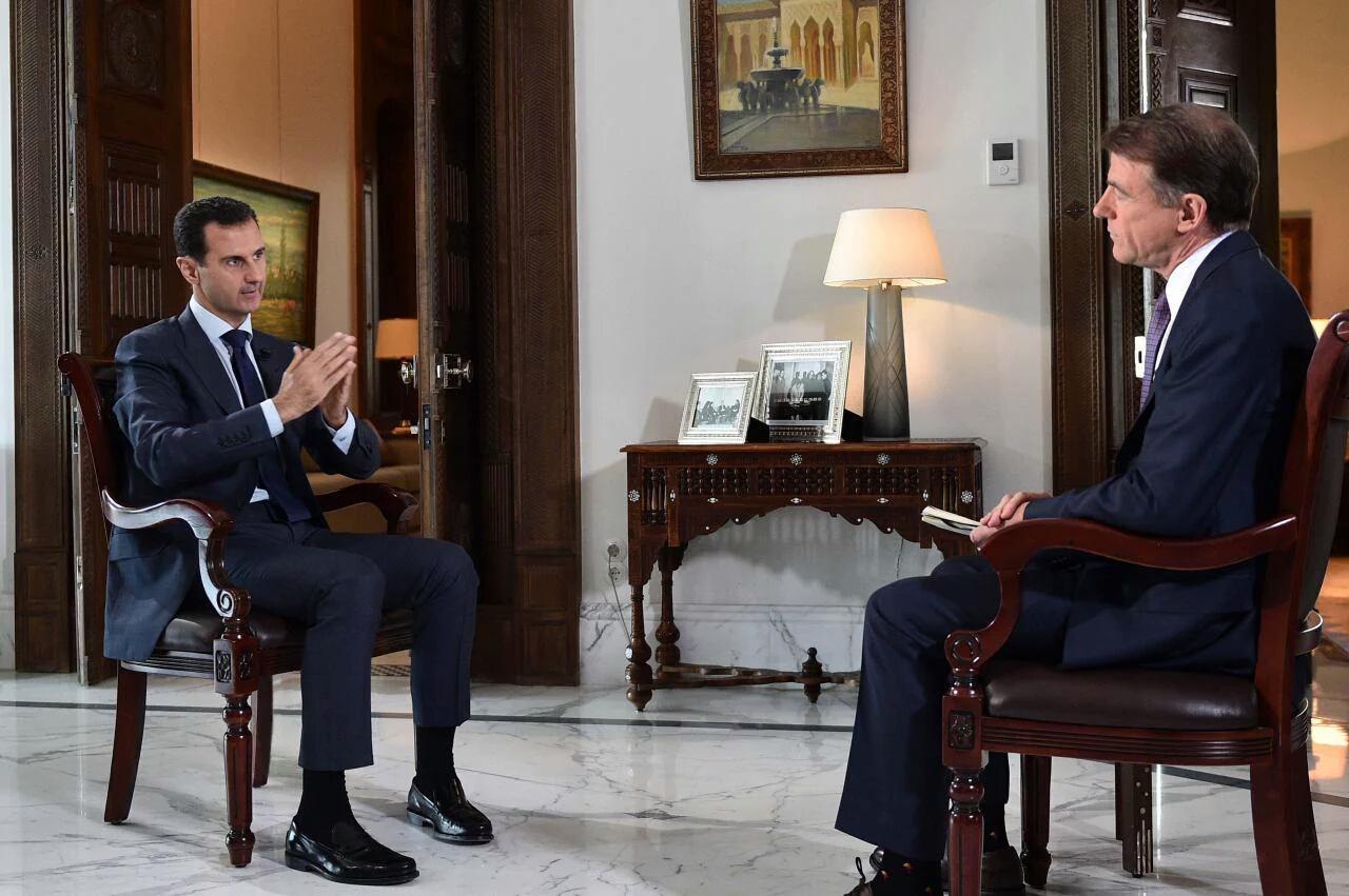 Photo of الأسد: الأمريكيون يقولون شيئاً ويخفون شيئاً أخر.