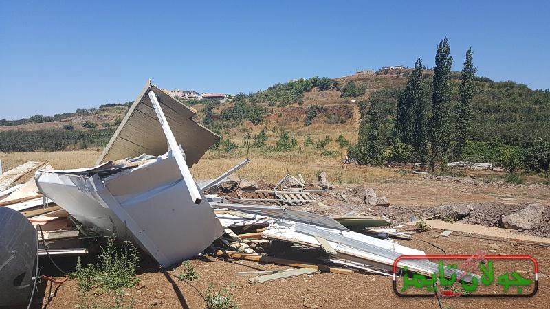 Photo of الاحتلال يهدم بناء غير مرخص في بقعاثا