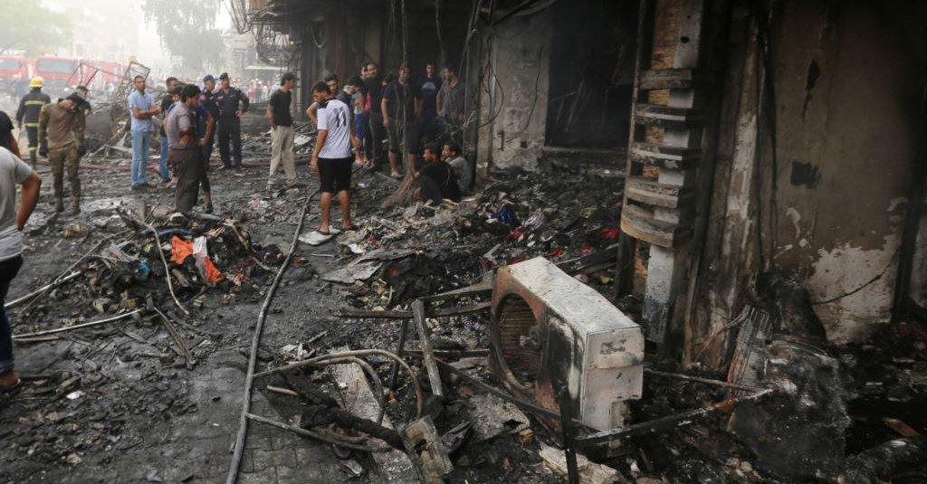 Photo of استشهاد 11 عراقي بتفجير في بغداد