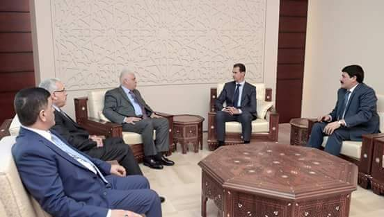 الأسد يستقبل مستشار الأمن الوطني العراقي