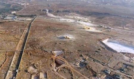 Photo of الجيش يعزل نارياً منطقة العمليات في محيط الكليات العسكرية بريف حلب