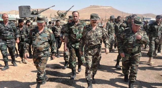 Photo of بتوجيه من الرئيس الأسد العماد الفريج يتفقد القوات العاملة في حلب