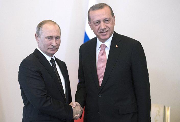 Photo of بوتين يستقبل اردوغان
