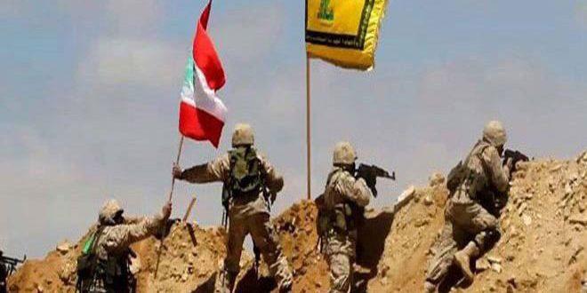 """المقاومة اللبنانية تدمر موقعاً لإرهابيي """"داعش"""" في عرسال"""