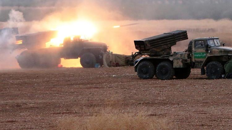 Photo of قصف مدفعي على مقرات إرهابية بدرعا والسويداء