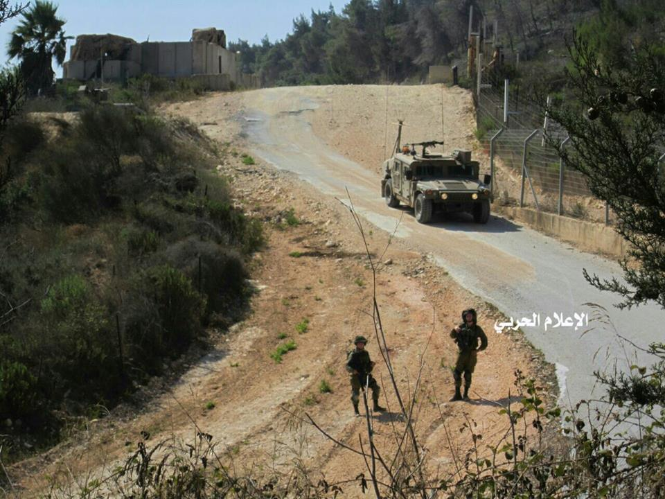 Photo of بالصور- الاحتلال الاسرائيلي يجري أعمال صيانة جنوب لبنان